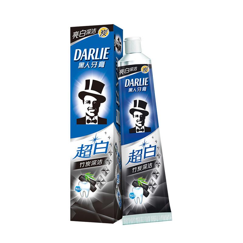 黑人(DARLIE)超白竹炭深洁牙膏 140g