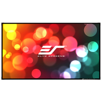亿立(Elite Screens)150英寸16:9画框幕布 投影幕布 投影仪幕布 投影幕 幕布(AR150WH1)