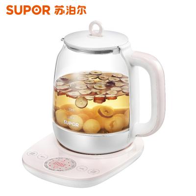 苏泊尔(SUPOR) SW-15Y16养生壶全自动加厚玻璃多功能电热烧水壶煮花茶壶
