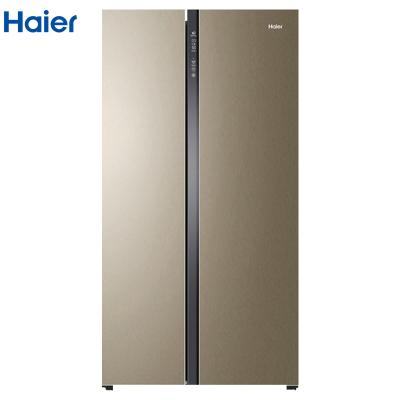 Haier 海尔 BCD-649WDVC 对开门冰箱 649L 金色