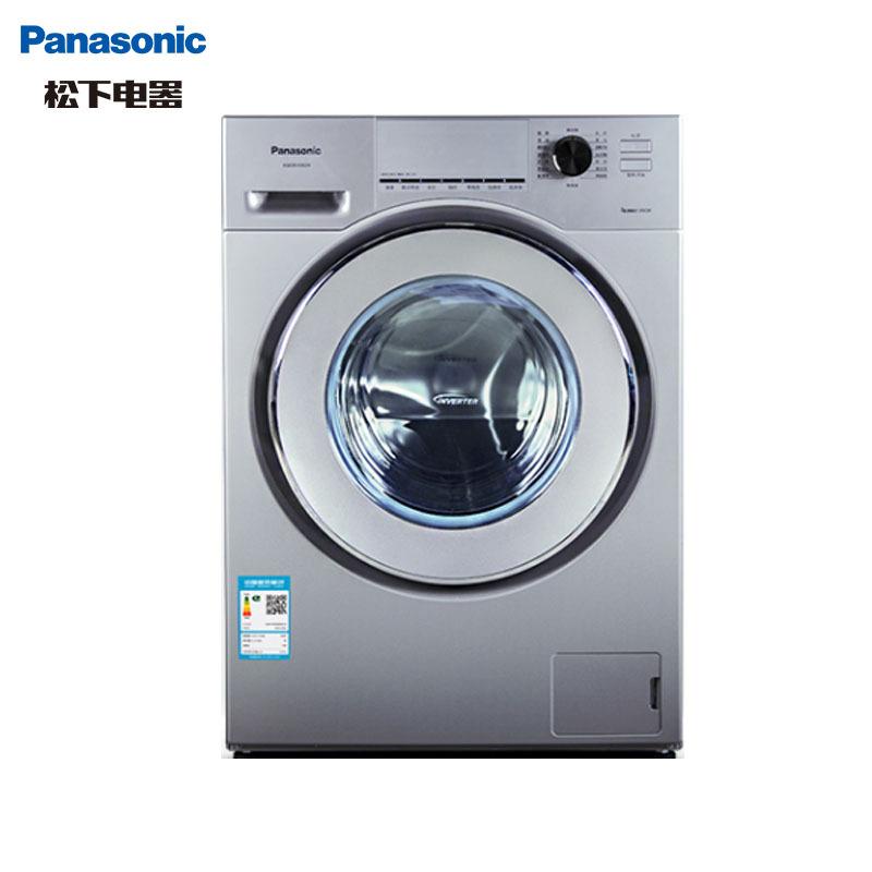 松下(Panasonic) XQG90-E902H 9公斤 变频 高温除菌 智控 筒自洁 节能静音滚筒洗衣机(银色) 3398元