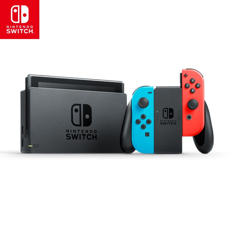 【国行来袭】任天堂(NintendoSwitch) 家用游戏机续航增强版(红蓝)掌机NS体感游戏机 国行Switch