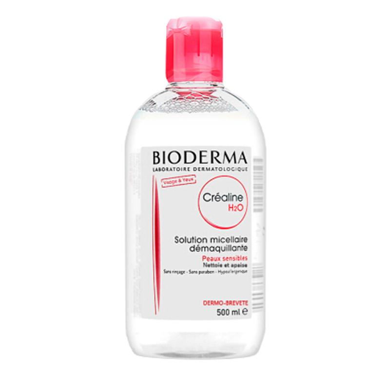 【迪丽热巴同款】贝德玛BIODERMA 舒妍温和保湿卸妆水 500ml法国版 网红粉水卸妆液