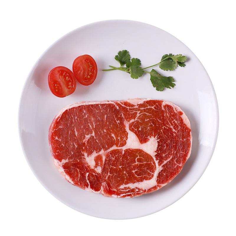 伊赛(yisai)巴西整切眼肉牛排*1袋装150g 原肉进口部位整切静腌 低脂