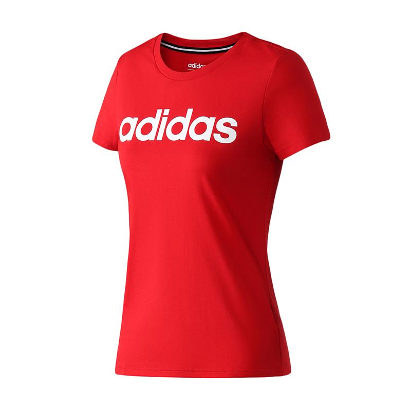 adidas NEO 阿迪达斯 DZ7677 女士休闲T恤 59元