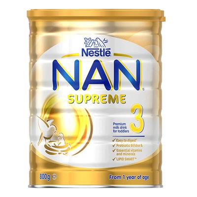雀巢Nestle超级能恩NAN适度水解奶粉3段800g 1-3岁 婴儿防过敏 保质期21年8月