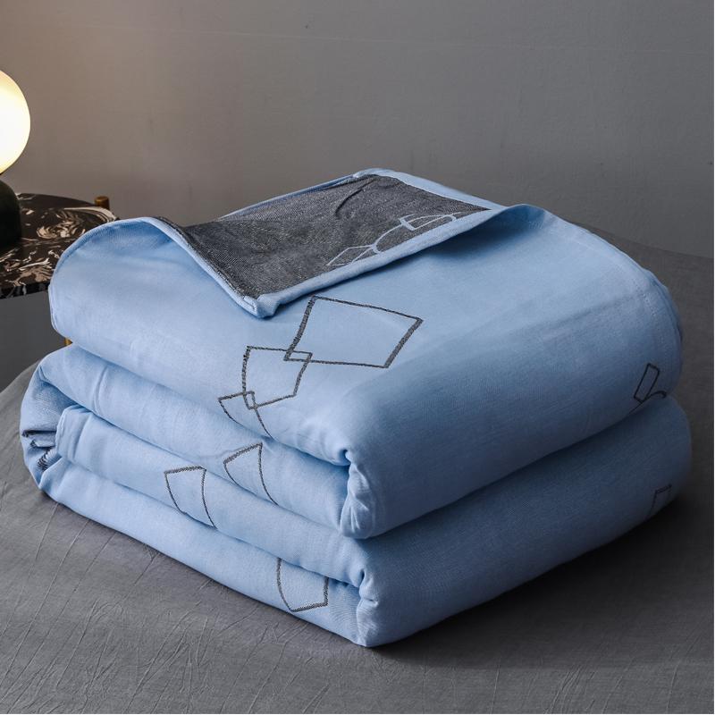 J.H.Longess 三层全棉纱布毛巾被150x200cm