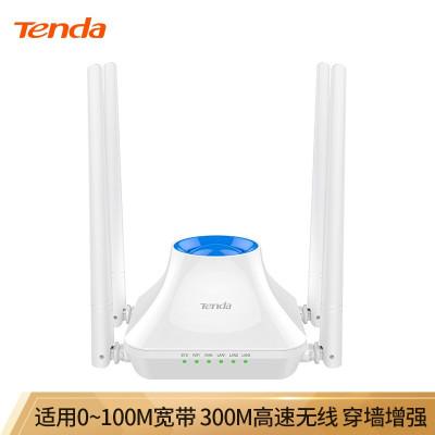 腾达F6 家用百兆无线路由器 wifi光纤ap中继穿墙王高速企业有线穿墙移动电信学生宿舍寝室漏油器