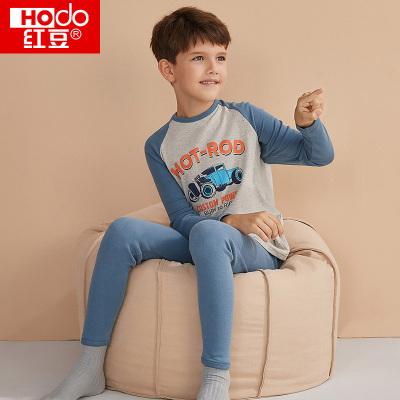Hodo 红豆 儿童纯棉内衣套装