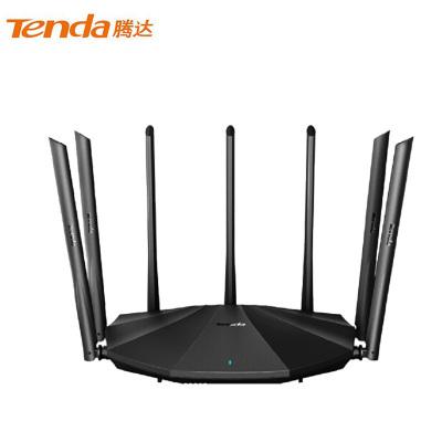 腾达(Tenda)AC23 双千兆路由器 2100M无线家用 5G双频 千兆端口 光纤宽带WIFI穿墙 内配千兆网线