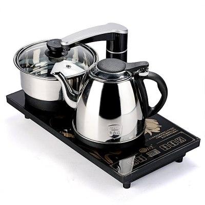 纳丽雅(Naliya)喝茶烧水一体机全自动上水电茶炉功夫茶具茶盘套装配件四合一快速炉电磁炉壶 半自动电热水壶