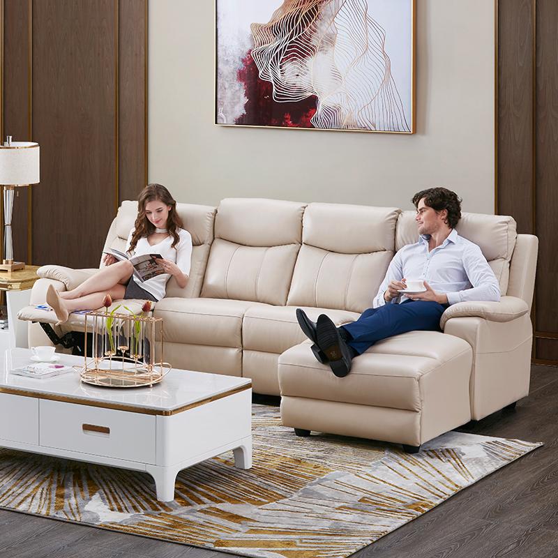CHEERS 芝华仕 5686 四人位真皮功能沙发 双重优惠折后¥5399 左/右角位两色可选
