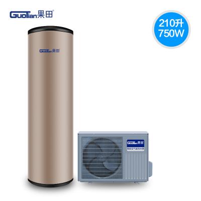 果田(guotian)210升空气能热水器家用空气源热泵75℃高温2级能效智能WIFI节能恒温
