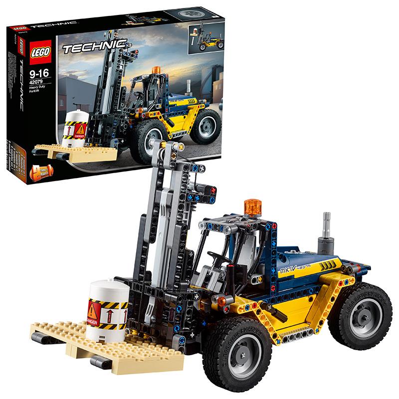 LEGO 乐高 Technic 机械组系列 42079 重型叉车 351.2元包邮(1件8折)