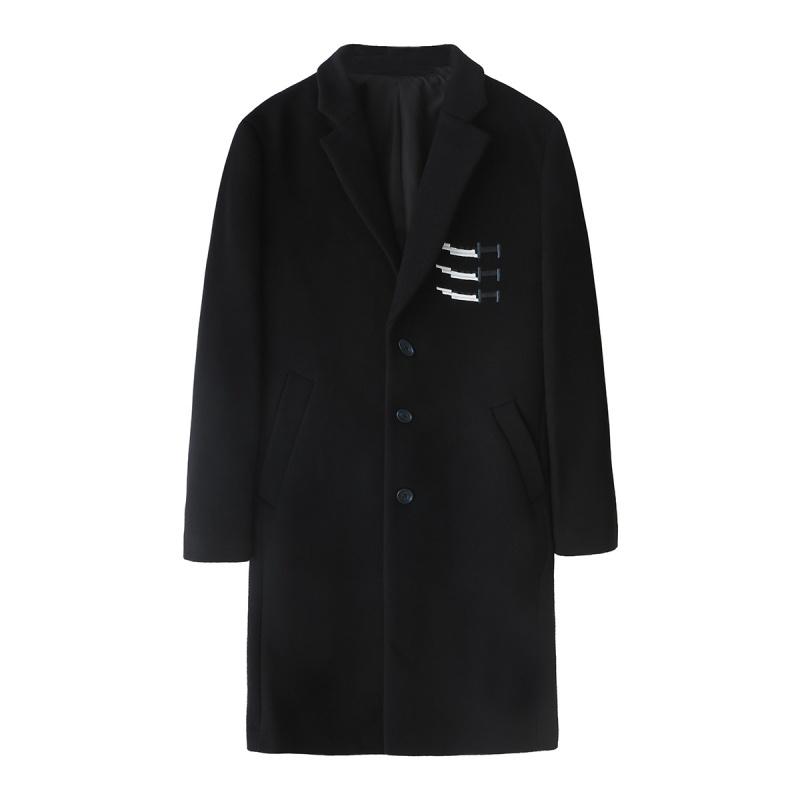 反季特卖: MARK FAIRWHALE 马克华菲 男士毛呢外套