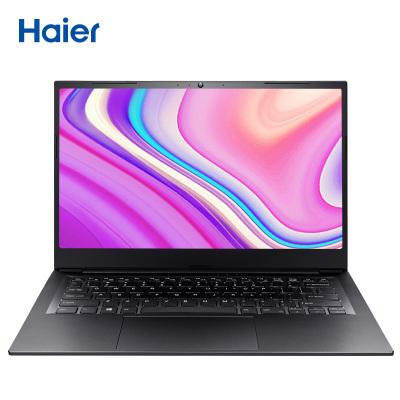 海尔(Haier)凌越S14-1SH 14英寸十代轻薄笔记本电脑(8G高频内存 256GB固态 正版Win10)网课学习办公商用影音家用金属轻薄便携笔记本