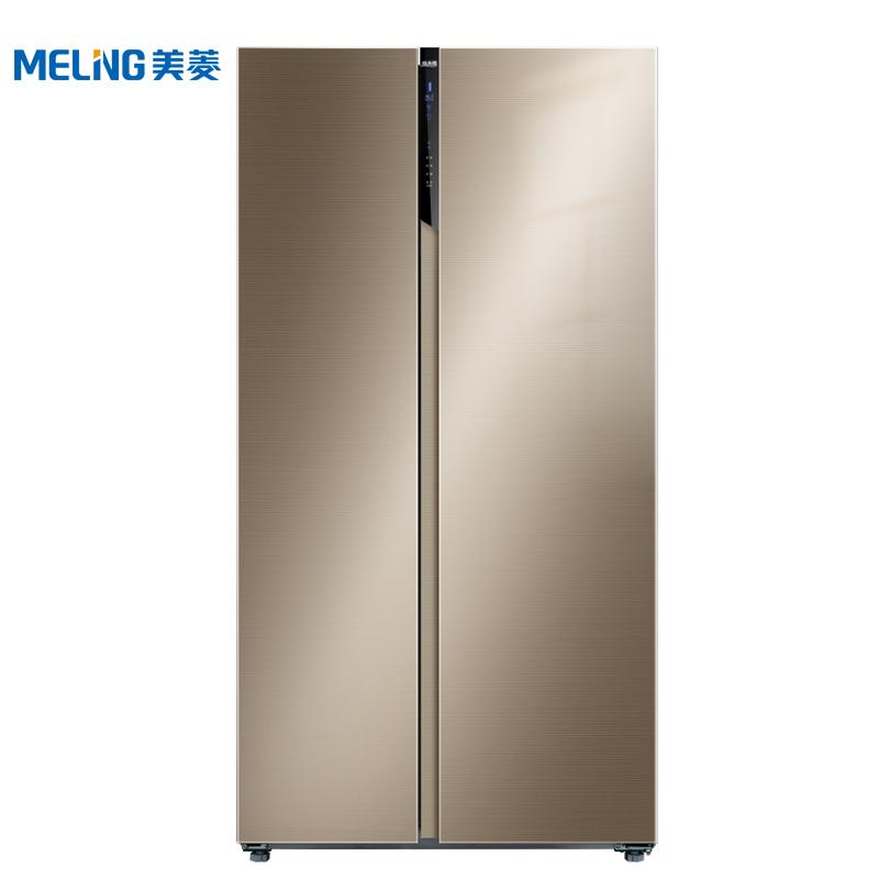 美的冰箱双开门报价_美菱(MELING)冰箱BCD-546WPUCX 美菱(MELING)BCD-546WPUCX 双开门对开门 ...