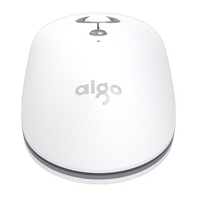 爱国者(AIGO) 时尚无线蓝牙静音可切换三模鼠标 稳定省电可连接多设备 M300 白色
