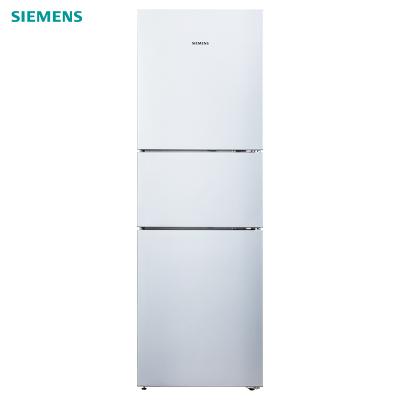 西门子(SIEMENS)BCD-274W(KG28UA290C)274升 混冷无霜 零度保鲜 三门家用冰箱(欧若拉银)