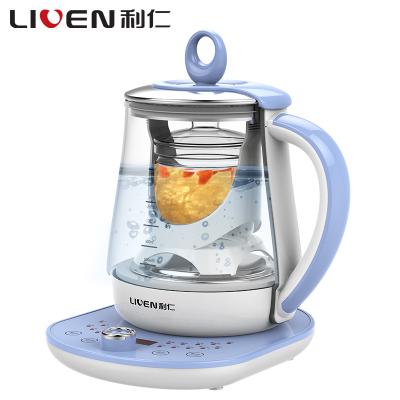 利仁(Liven)LR-D7185 养生壶多功能家用智能保温加厚玻璃电热水壶办公室煮茶壶烧水壶