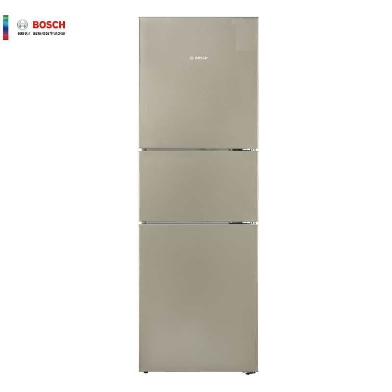 BOSCH 博世 KGU28A2Q0C 274升 家用三门冰箱(流沙金) 3499元