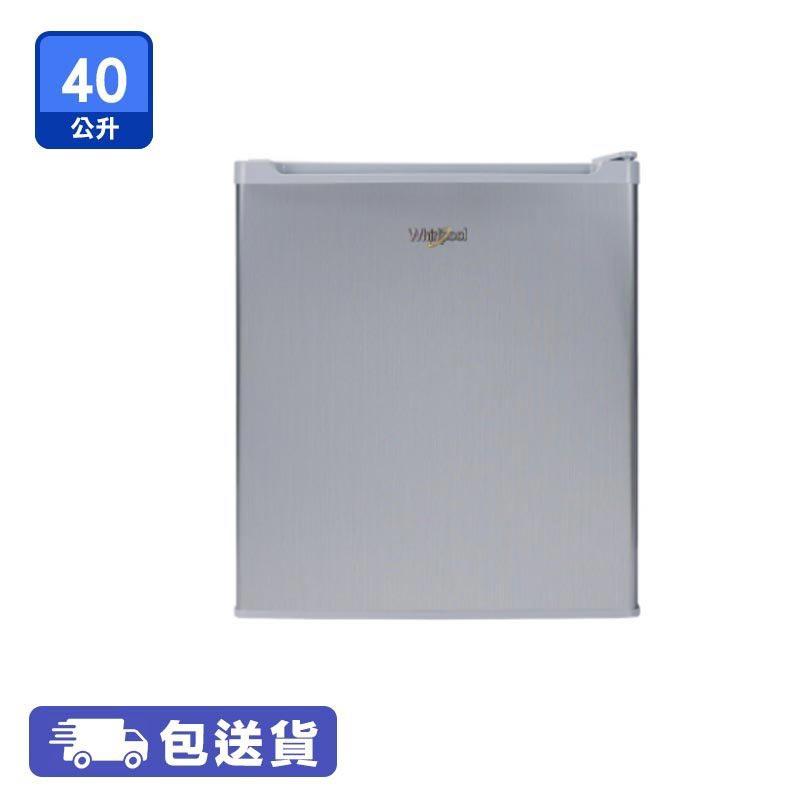 WHIRLPOOL 惠而浦 WF1D042RAS 單門直冷雪櫃(40公升/右門鉸)