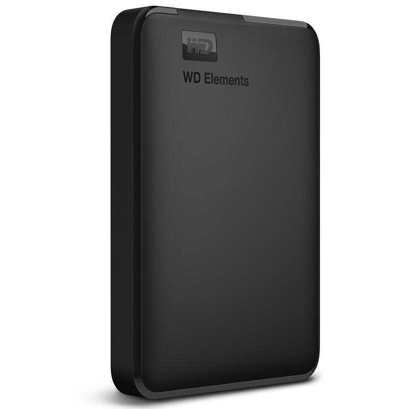 西部数据Elements Portable新元素系列 2.5英寸USB3.0移动硬盘1TB(WDBUZG0010BBK)