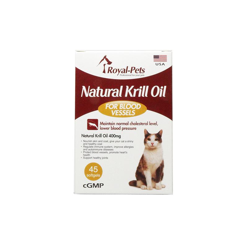 Royal-Pets 天然磷蝦油丸 45粒軟膠囊