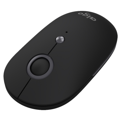 爱国者(AIGO) 时尚无线蓝牙静音可切换三模鼠标 稳定省电可连接多设备 M300 黑色