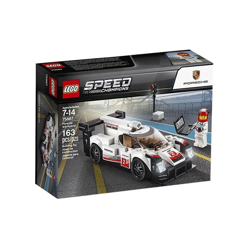 LEGO 乐高 Speed赛车系列 75887 保时捷 919 *2件 238元(合119元/件)