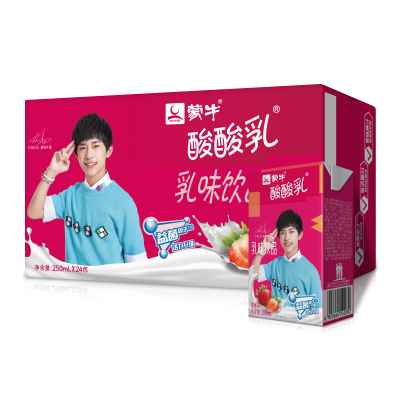 限地区: 26.94元  蒙牛 酸酸乳乳味饮品(草莓味)250ml×24盒