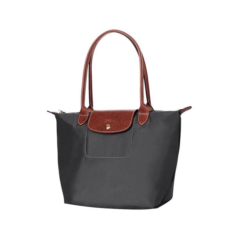 Longchamp 珑骧尼龙深灰色LEPLIAGE系列女士小号购物袋2605089300 珑骧 ... bc5c93043eee0