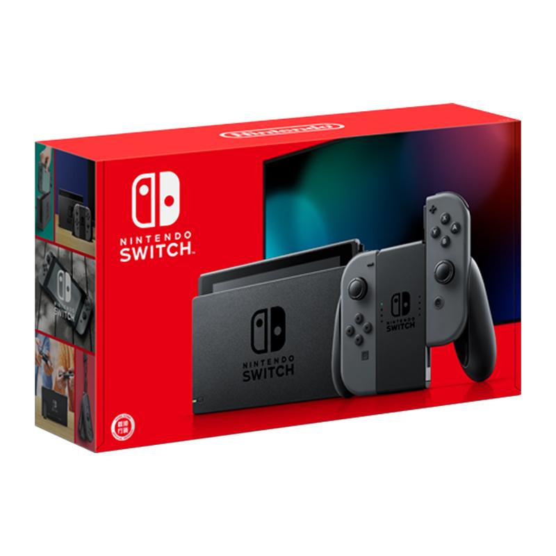 任天堂(Nintendo)Switch 掌上游戏机便携 NS 黑色手柄 续航增强版 日版2299元