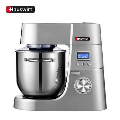 海氏厨师机家用小型和面机商用多功能鲜奶机揉面机搅拌机全自动打蛋器HM770 HM770升级款银色