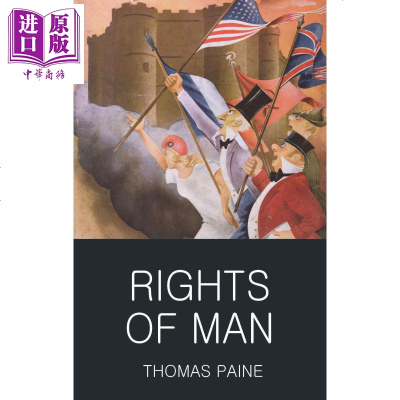 人权 人的权利 Thomas Paine 英文原版 Wordsworth: Rights of Man【中商原版】商
