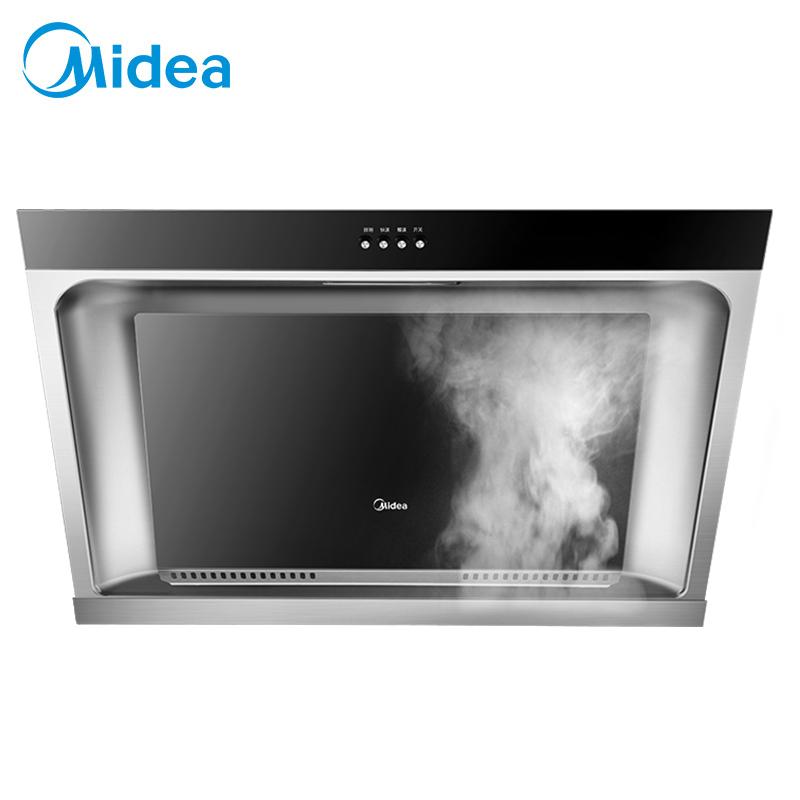 美的(Midea)抽油烟机CXW-180-DJ118 侧吸式吸抽油烟机 免拆洗大吸力油烟机 家用厨房侧吸烟机