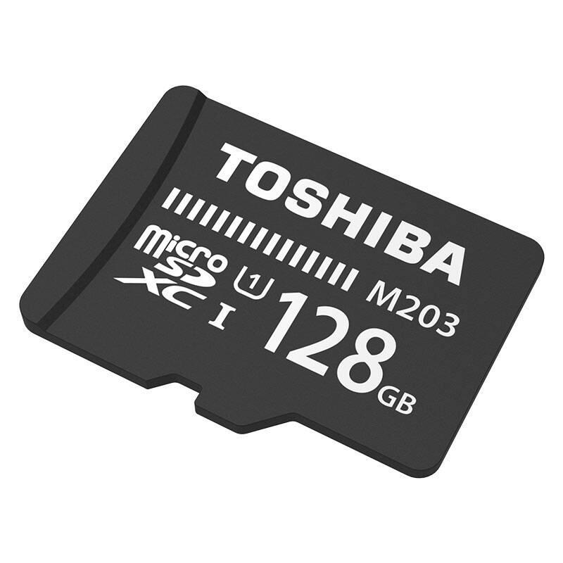 东芝(TOSHIBA)128GB 100MB/s TF(micro SD) 存储卡UHS-I U3 Class10 高速