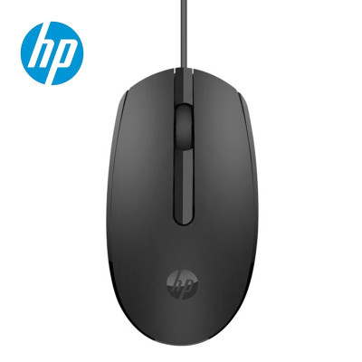 惠普/HP M10有线鼠标USB接口笔记本台式家用商务办公原装便携鼠标