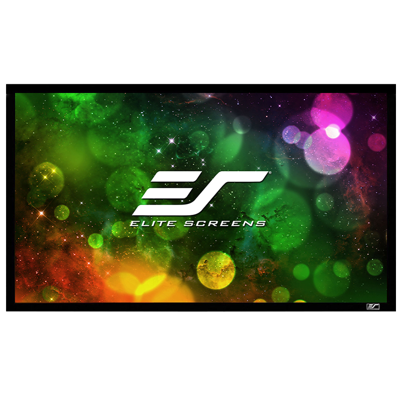亿立(Elite Screens)100英寸16:9画框幕布 投影幕布 投影仪幕布 投影幕 幕布(JER100WH1)