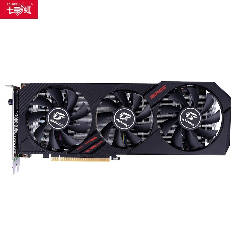 七彩虹(COLORFUL)iGame GeForce GTX 1660 SUPER Ultra 6G 显卡图片