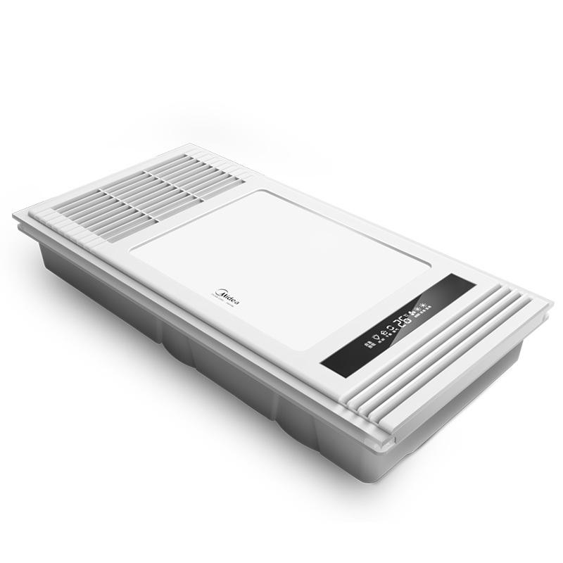 Midea 美的 风暖浴霸多功能三合一集成吊顶嵌入式照明换气取暖卫生间浴室取暖器其他 暖风模块 300x600MM 644元