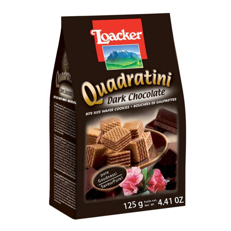 圣元雅乐爱_莱家(Loacker)进口饼干 莱家(Loacker)粒粒装威化饼干 黑巧克力味 ...