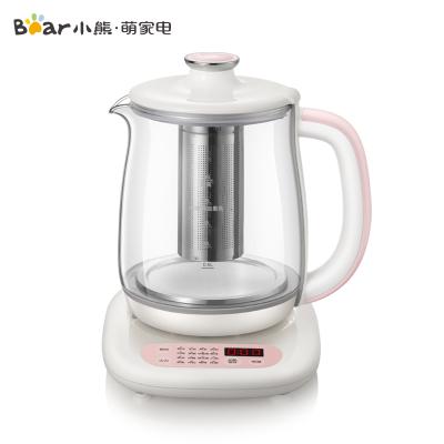 小熊(Bear)养生壶 YSH-B18A6 1.8L大容量微电脑可预约定时保温多功能家用办公室煮茶壶电煮茶器官方自营