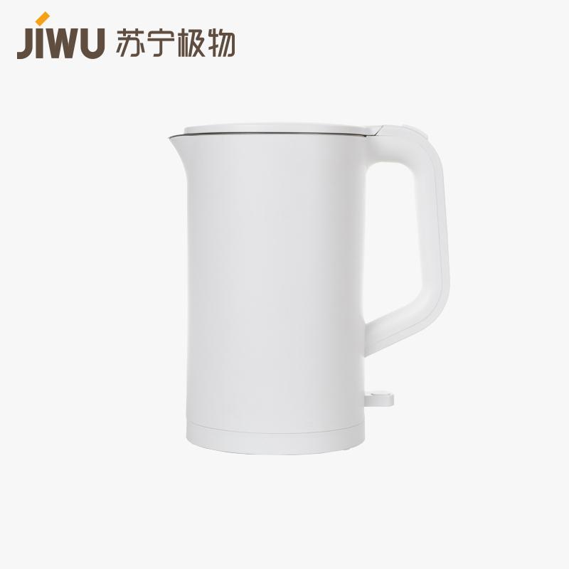 移动端:苏宁极物 SDH01 臻白电水壶 1.5L59元(拼团价)
