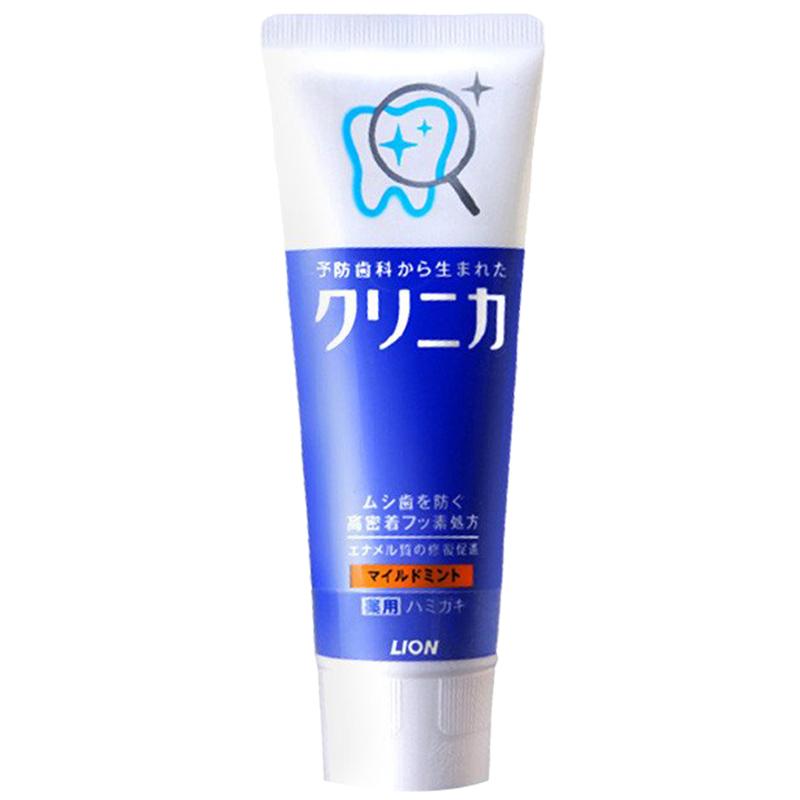 LION 狮王旗下CLINICA 齿力佳 酵素洁净立式牙膏 温和薄荷型 130g 12元