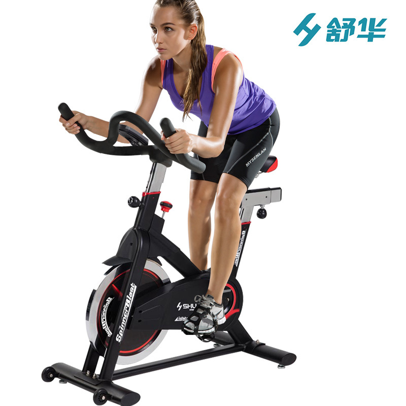 舒华(SHUA)家用健身单车SH-B5961S 有氧健身车实心飞轮 室内静音直立式动感单车自行车健身