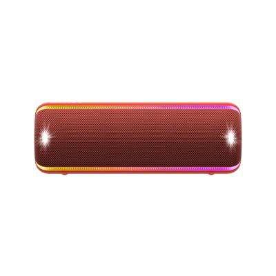 索尼(SONY)SRS-XB32 防水重低音便携无线扬声器(红色)