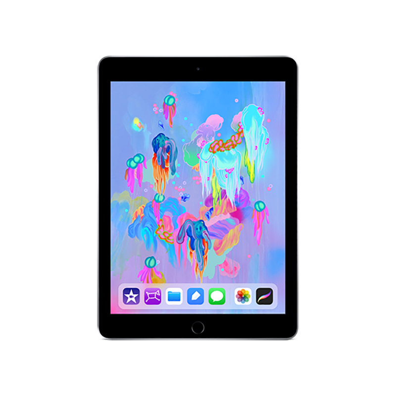 Apple iPad 第六代 2018年新款9.7英寸128G Wifi版 深空灰色 MR7J2CH/A