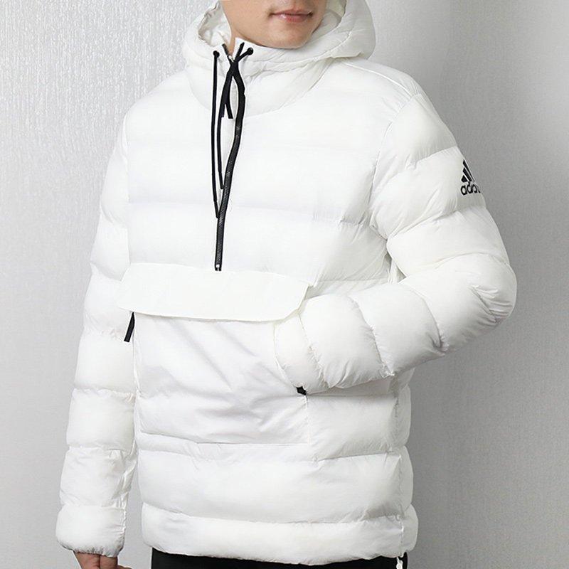 商場同款,阿迪達斯 男女士 連帽保暖棉服