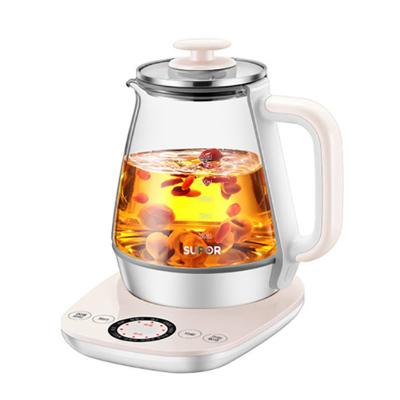 苏泊尔(SUPOR) 养生壶多功能家用玻璃电全自动加厚煮茶壶煮茶器多功能养身花茶壶 SW-15Y12